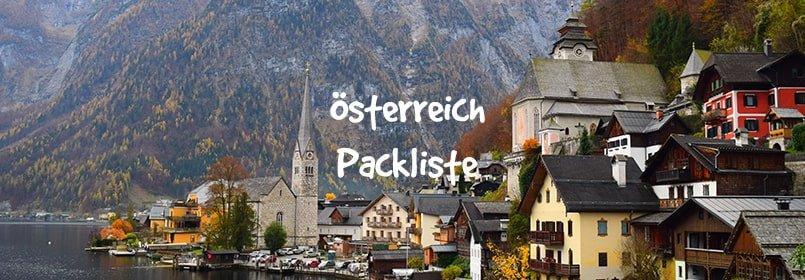 österreich packliste