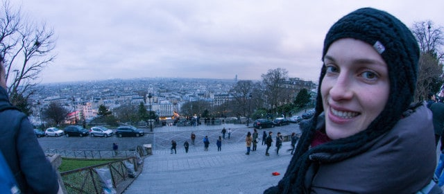 Paris im Winter