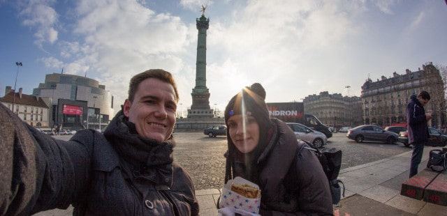 Crepe Place de la Bastille