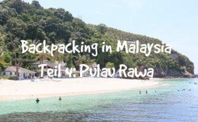 Pulau Rawa Backpacking Malaysia