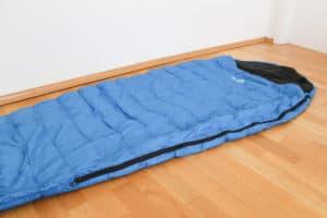 Alpin Loacker Sommerschlafsack Reißverschluss