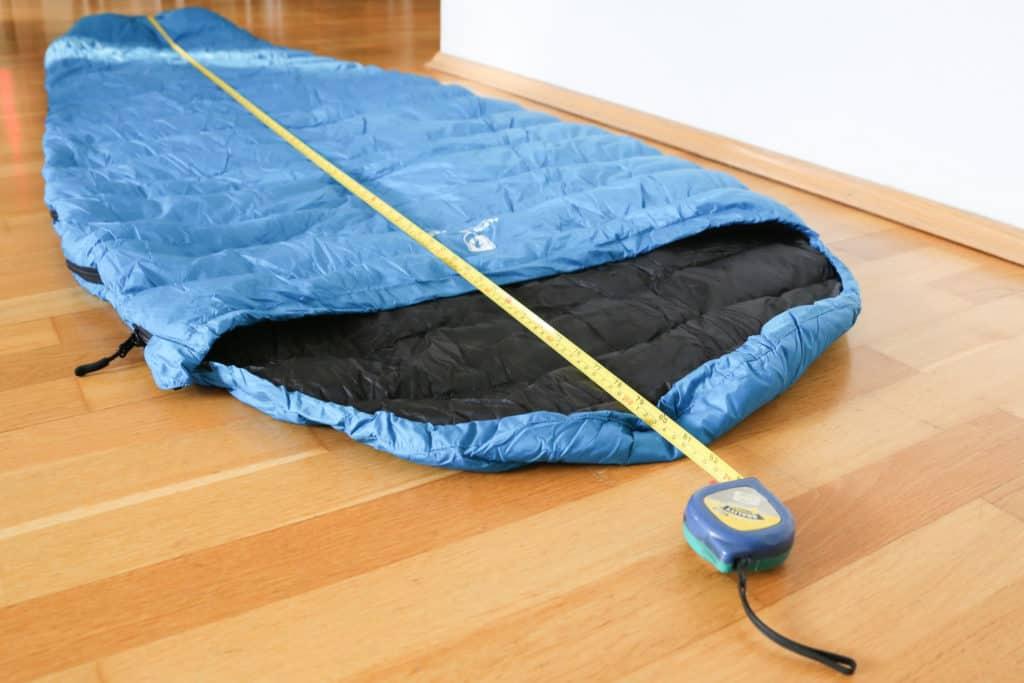Alpin Loacker Sommerschlafsack Maße