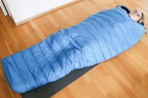 Alpin Loacker Sommerschlafsack Test