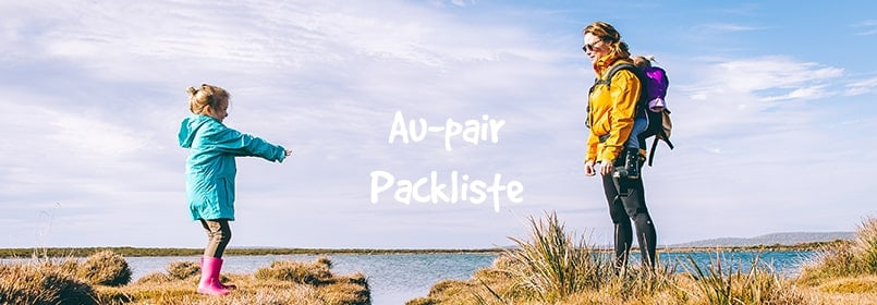 aupair packliste
