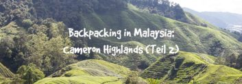 backpacking malaysia cameron highlands