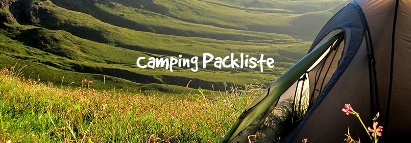 Camping-Packliste