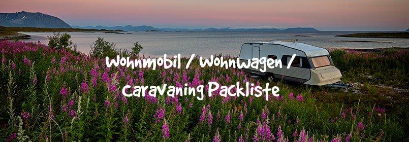 caravan packliste