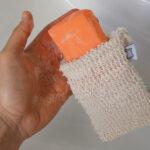 Duschbrocken Sisalsäckchen