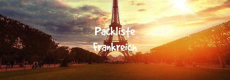 frankreich packliste