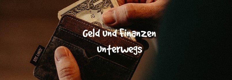geld und finanzen unterwegs