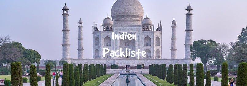 indien packliste