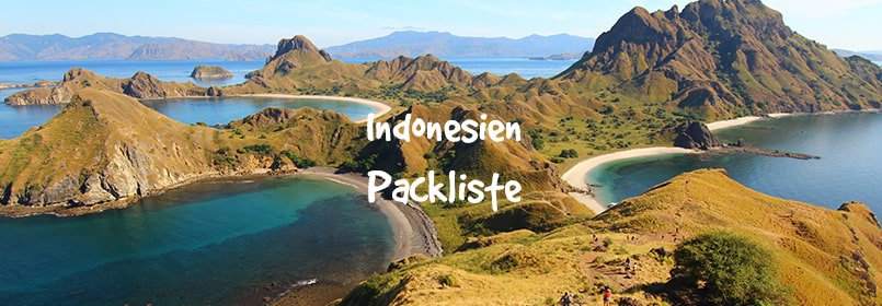 indonesien packliste