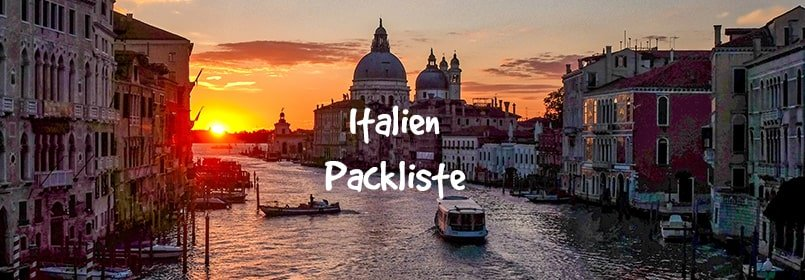 Packliste Italien Zum Ausdrucken Und Abhaken