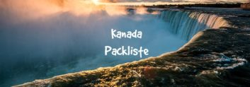 kanada packliste
