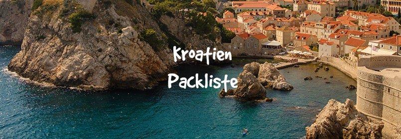 kroatien packliste