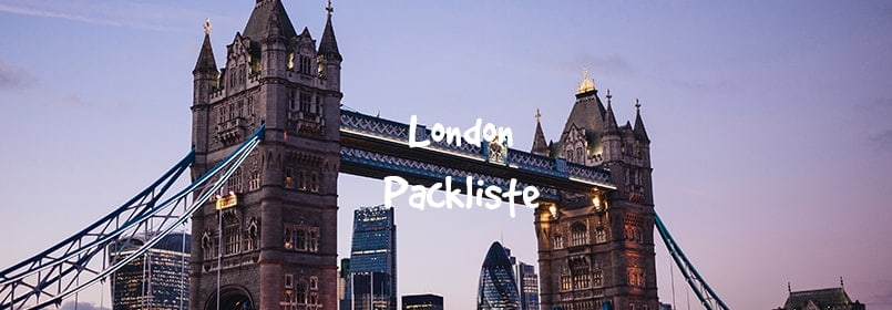 london packliste