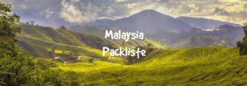 malaysia packliste