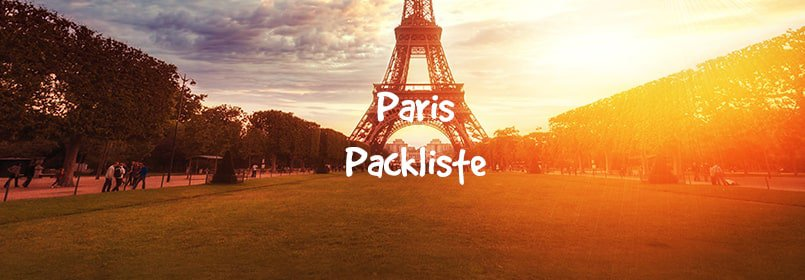 paris packliste
