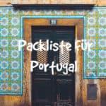 Packliste Portugal
