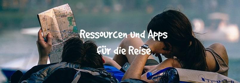 ressourcen zum reisen
