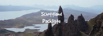 schottland packliste