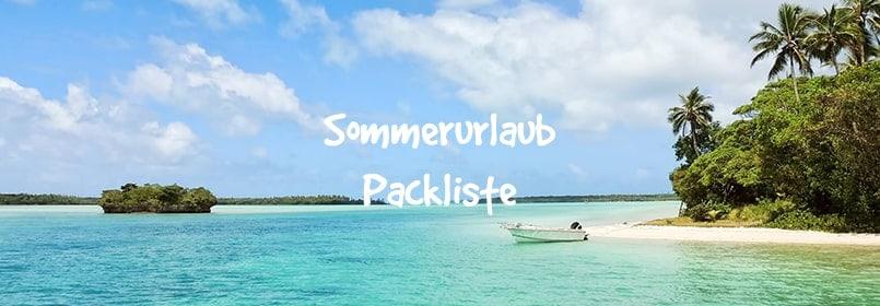 sommerurlaub packliste artikelbild