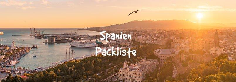 spanien packliste
