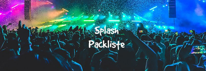 splash packliste