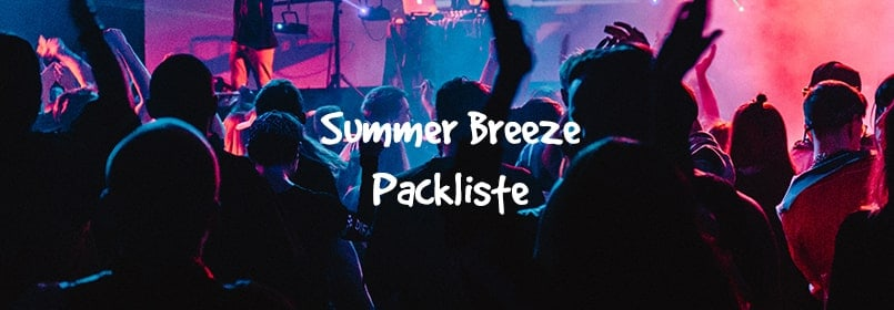 summer breeze packliste
