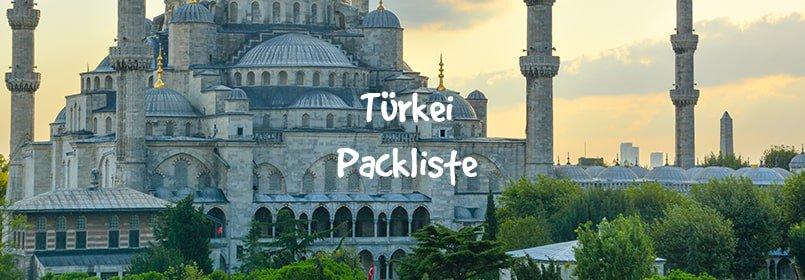 türkei packliste