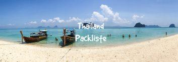 thailand packliste