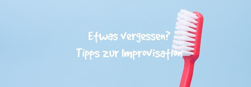 tipps zur improvisation