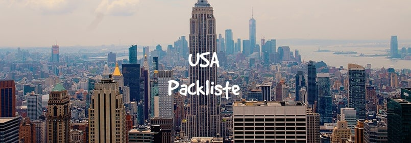 usa packliste
