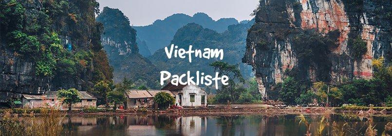 vietnam packliste backpacking
